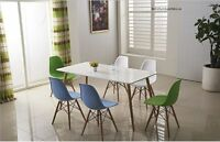 Dining Table And 6 Chairs Retro Dsw Eiffel----