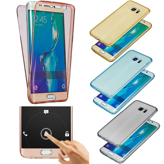 Shockproof Clear Thin Soft Case Cover for Samsung S6 S7 S8 Plus Huawei P8 P9 P10
