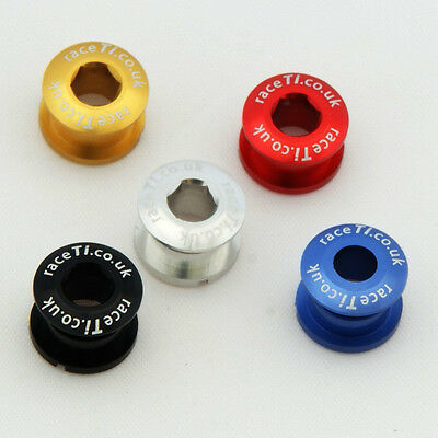 CNC from 7075 alloy for raceTi BOLT Mech Hanger Derailleur Nut Hardware Fixing