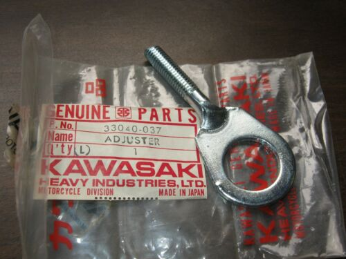 KAWASAKI LEFT H CHAIN ADJUSTER G31M CENTURION G31M-A 1970-1971 NOS OEM 33040-037