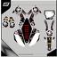 Grafiche-personalizzate-HONDA-CR-125-RiMotoShop-Opaco miniatura 9