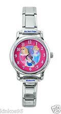 NEW Disney SII Cinderella Snow White Sleeping Beauty Italian Charm Watch