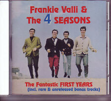 FRANKIE VALLI & THE 4 SEASONS Fantastic First Years CD
