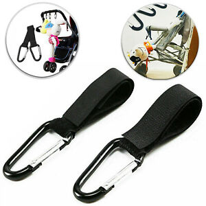 Universal Buggy Mummy Clips Pram Pushchair Shopping Bag Hook Carabiner Clip