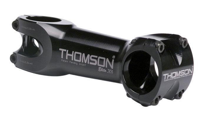 Vástago de tallo Thomson X4 MTB Thom X4 110x10d BK 31.8