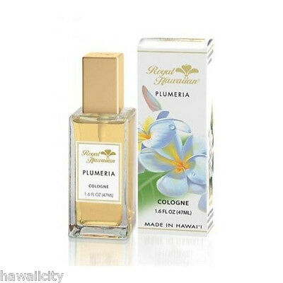 Hawaii Plumeria Flower Cologne from Royal Hawaiian Perfumes - 1.6 FL OZ