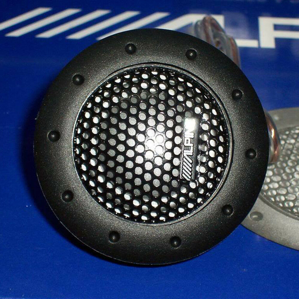 New 360W ALPINE DDT-S30 1 Pair Soft Dome Balanced Car Tweeters Speaker Car Audio