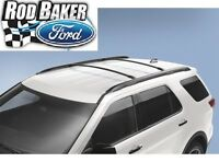 2016 Explorer Genuine Ford Parts Black Roof Rack Cross Bar Set 2-piece