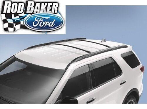 2016 Explorer Oem Genuine Ford Parts Black Roof Rack Cross