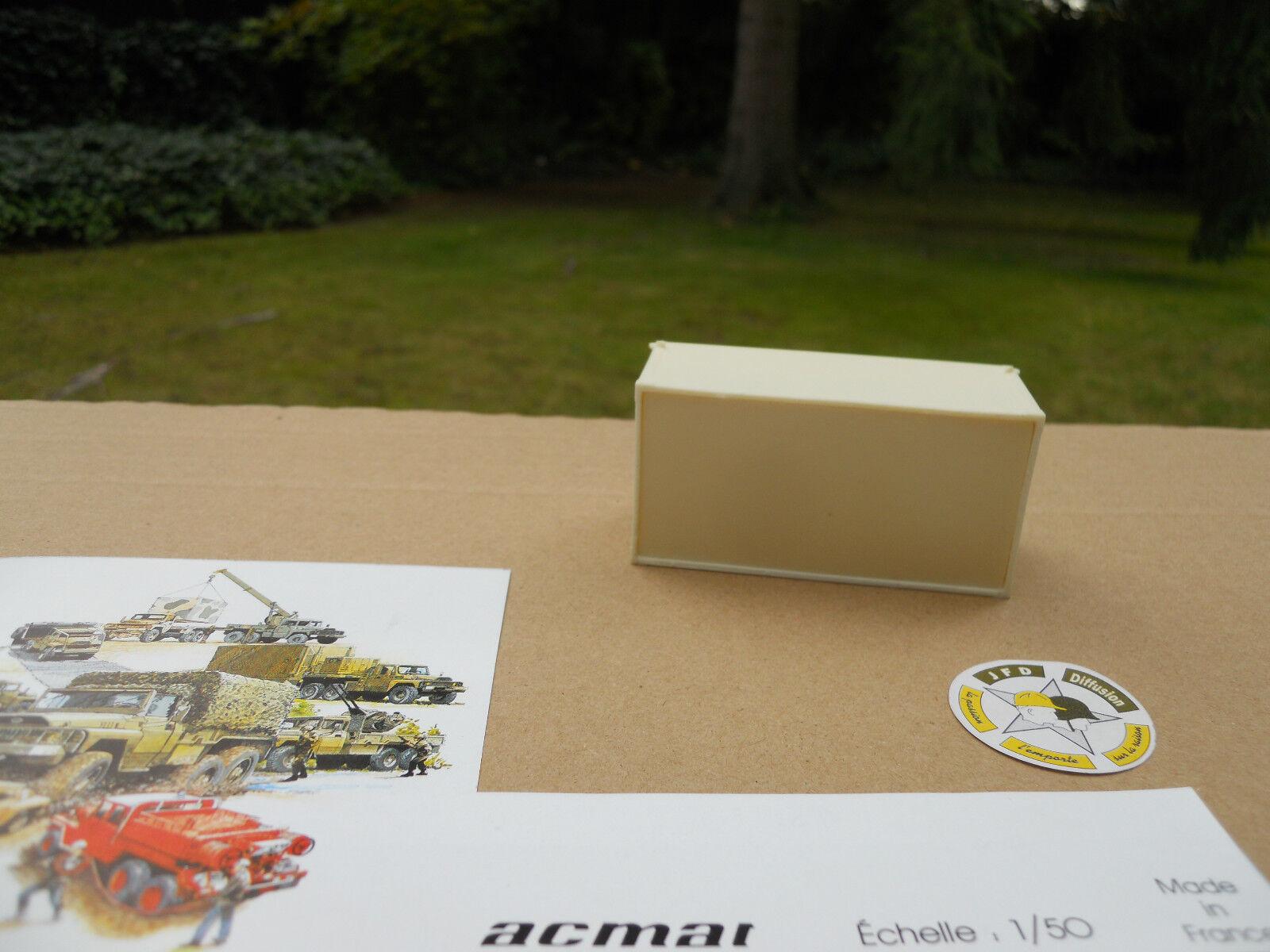 ACMAT ACMAT ACMAT 1 50 ACCESSOIRE POUR CAMION CEF SHELTER SH 385 A  75 mm X 38 mm X 32 mm b59fc9