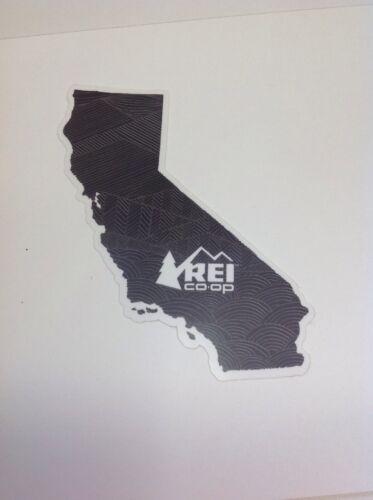 REI California State Sticker Decal CA