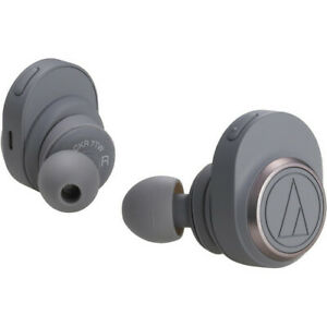 Audio-Technica-Consumer-ATH-CKR7TW-True-Wireless-In-Ear-Headphones-Gray
