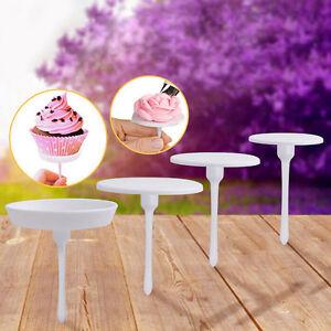 Cake-Cupcake-Stand-Icing-Cream-Flower-Nails-Set-Sugarcraft-Decorating-Tool-4X-EW