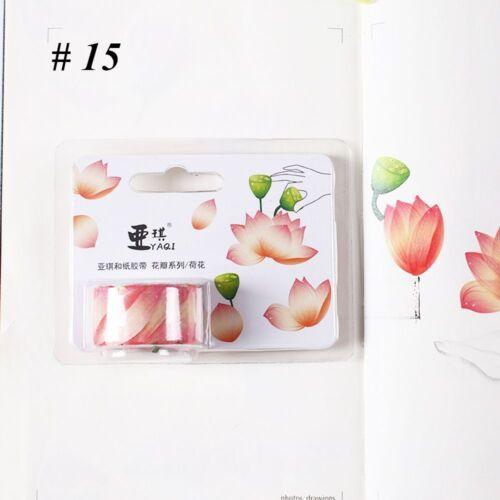 band klebeband klebrige papier scrapbooking aufkleber stilvolle sakura blüten