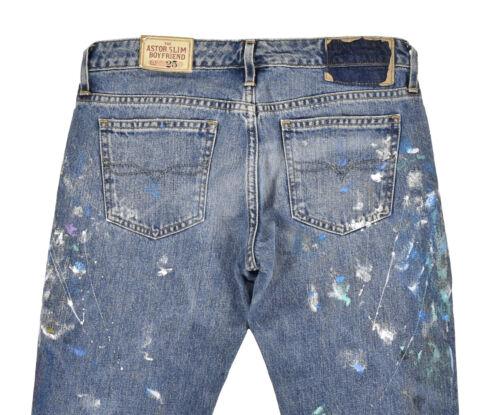 Wash Jeans Slim Ralph Slim Lauren Astor Nuovo Jillian Splatter Boyfriend Paint Jeans Sq1U0SxT