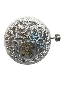 Genuine-Seagull-Tourbillon-Mvt-Skelenton-Silver-Carved-Mens-Wrist-Watch-Womens