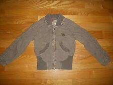 DIESEL Infant Girl's Khaki Cotton Jacket Size 2T