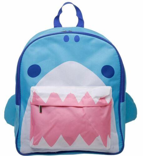 FUNKY SHARK JAWS DESIGN BACKPACK RUCKSACK CHILDRENS SCHOOL BAG