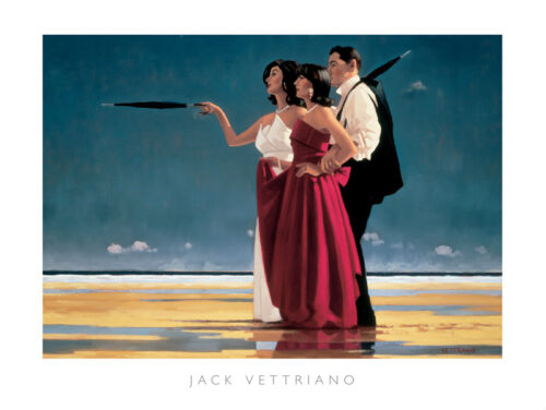 Jack Vettriano The Missing Man I 40x50 premium open edition print