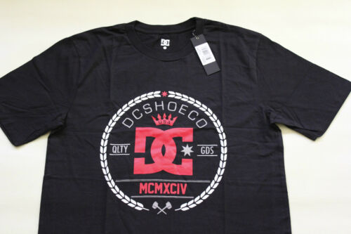 M XL L BNWT NEW DC Shoes Mens Short Sleeve T Shirt DCSHOES Tee Size S 2XL