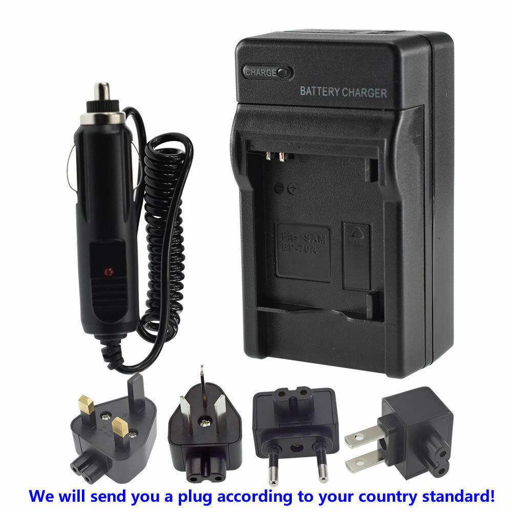 Battery Charger BP-70A BP85A for Samsung PL120 PL210 SH100 WB210 Digital Camera