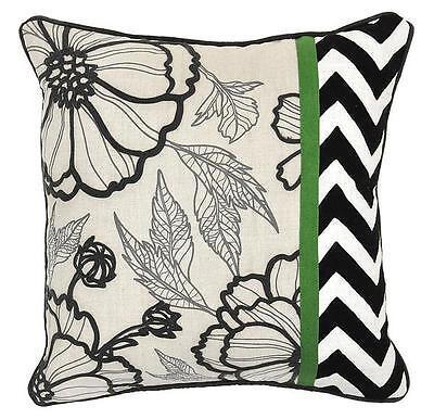 Villa Home Ntb Medley Multi Pillow 18 X 18 Decorative W Duck Feathers New Ebay