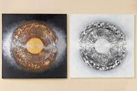 Bild Lania Leinwand auf Holzrahmen 100x100 cm (222000) Gemälde Sonderpreis !