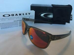 4a101df3157 Image is loading Oakley-Sliver-R-Round-POLARIZED-Sunglasses-Matte-Grey-