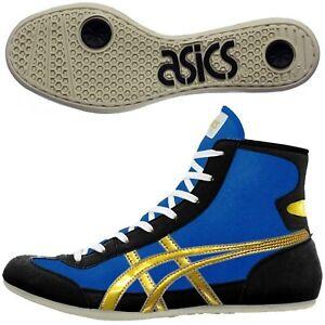 Détails sur ASICS JAPON Lutte Boxe Chaussures Extra-EO Bleu or Noir TWR900 Plat Semelle 47- afficher le titre d'origine