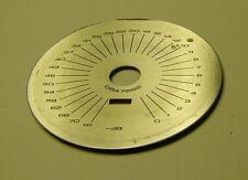 Pioneer Original Volume Indicator Plate SA-7800 SA-8800 SA-9800 Blaue Serie