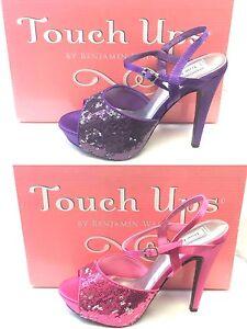 TOUCH-UP-BY-BENJAMIN-WALK-BEV-WOMEN-039-S-DRESS-SHOES-PURPLE-AND-FUCHSIA-4-034-HEEL