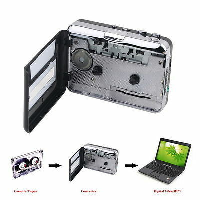 Tape to PC USB Cassette&MP3 CDConverter Capture Digital Audio MusicPlayer Better