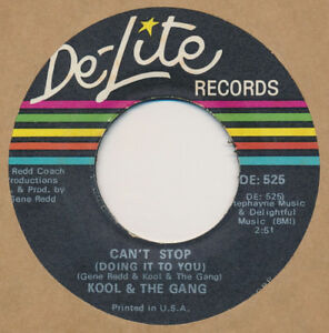 KOOL & THE GANG Kool It (Here Comes The Fuzz) / Can\'t Stop FUNK 45 ...