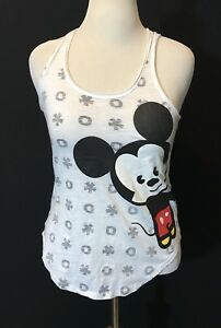 Tokyo Disneyland Resort TDR Mickey Minnie Mouse Tank Shirt Japan Size L Women's