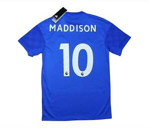 Leicester City 2019-20 Authentic Home Shirt Maddison #10 (nuova con etichetta) S Soccer Jersey