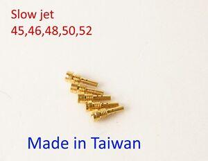Details about 5x slow jet 45- 52 for CVK Carburetor Keihin,CVK 32 34 36  Kawasaki VN
