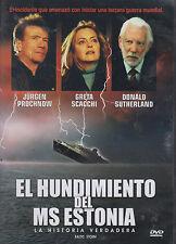DVD - El Hundimiento Del Ms Estonia NEW Baltic Storm FAST SHIPPING !