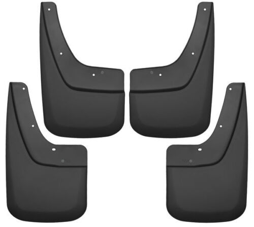Husky Liners Front and Rear Mud Guard Set for 14-18 GMC Sierra 1500 /& More