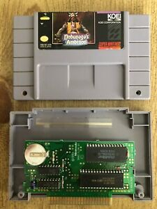 Nobunaga-s-Ambition-Snes-Super-Nintendo-Game-Only-AUTHENTIC