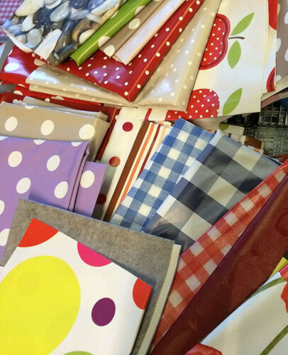 2 kg Sac Pvc Table Nappe Off découpes//Roll fin//restes Asstd Design Arts Crafts