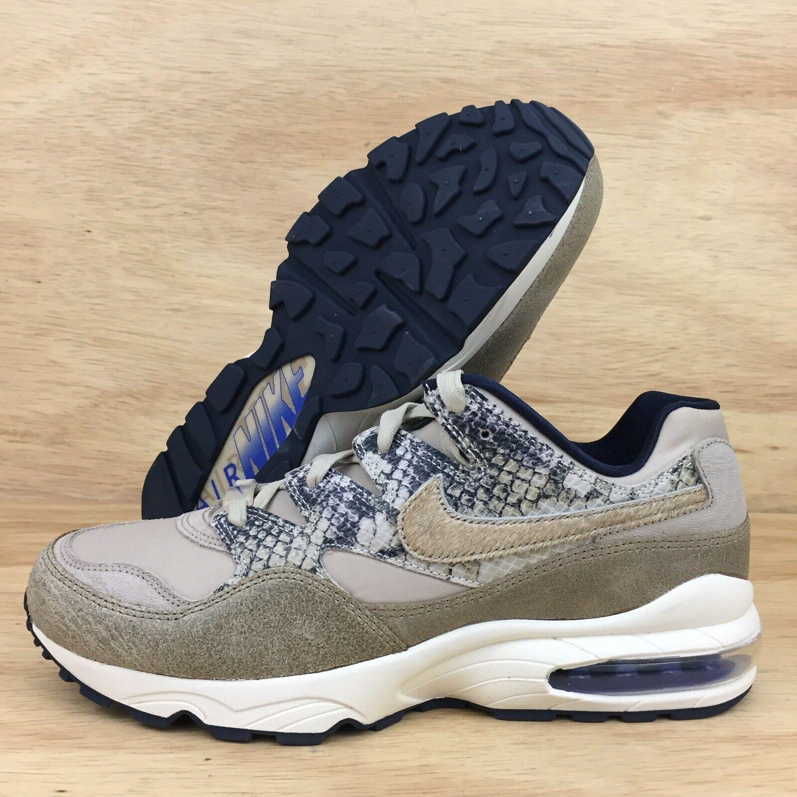 Nike Air Max 94 Snakeskin Mens SZ 10 AT8439-001 Newsprint Running shoes