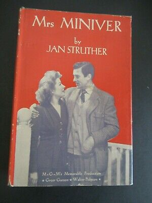 Mrs Miniver By Jan Struther From 1940 Ebay