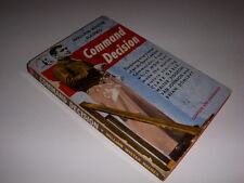 COMMAND DECISION by William Wister Haines, Pocketbook #571, 1949, Clark Gable!