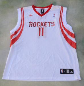 wholesale dealer 0422f 8f42e Details about Vintage Adidas NBA Houston Rockets Yao Ming #11 Jersey Size  XL.