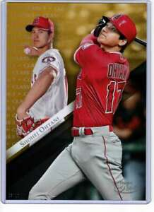 Shohei-Ohtani-2019-Topps-Gold-Label-Class-One-5x7-Gold-3-10-Angels