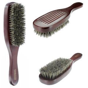 100-Pure-Natural-Soft-Boar-Bristle-Wave-Hair-Brush-Wood-Handle-Premium-G1012B