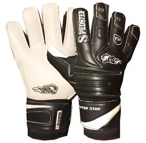 Spedster Super star goalie glove with finger safety size 8