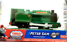 Thomas & Friends Trackmaster Peter Sam Single Loco Motorized Train (Rare Retired