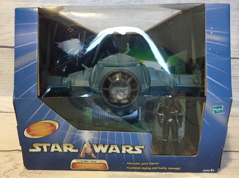Hasbro Star Wars Saga Imperial Dogfight TIE Fighter with Pilot Figure NIB