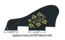 Epiphone Casino ELITIST Black/Gold Pickguard ES-295 Vintage Guitar Project NEW